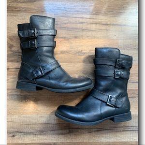 Born Leather Moto Boots